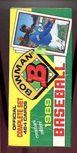 1989 Bowman Baseball Complete set FACTORY SEALED Box Ken Griffey Jr. Rookie ()