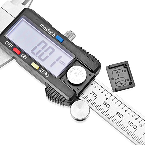 Gem Workshop Stainless Steel LED Electronic Digital Calliper Measuring Tool by Shop LC (Image #5)