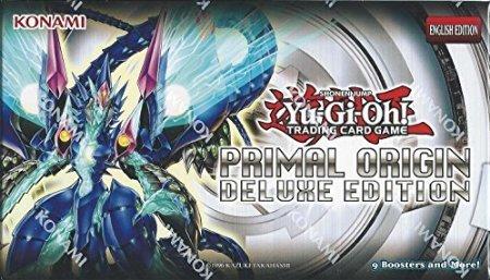 Yugioh Factory Sealed Primal Origin: Deluxe Edition Box