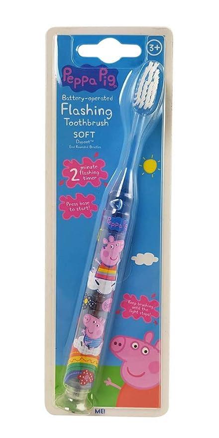 Peppa Pig intermitente cepillo de dientes