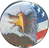 Best Tire Covers - Spare Tire Cover American Flag Eagle 29-30 inches Review