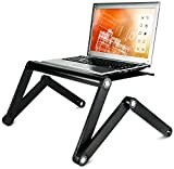 Best Mount With Vented Laptops - Mount-It! Ergonomic Laptop Stand, Adjustable Vented Laptop Table Review
