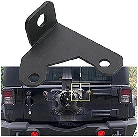 Tuincyn Heckklappe Auto Cb Antenne Based Halterung Für 2007 2015 Wrangle Jk 2 4 Tür Auto Antenne Rahmen Heck Tür Auto