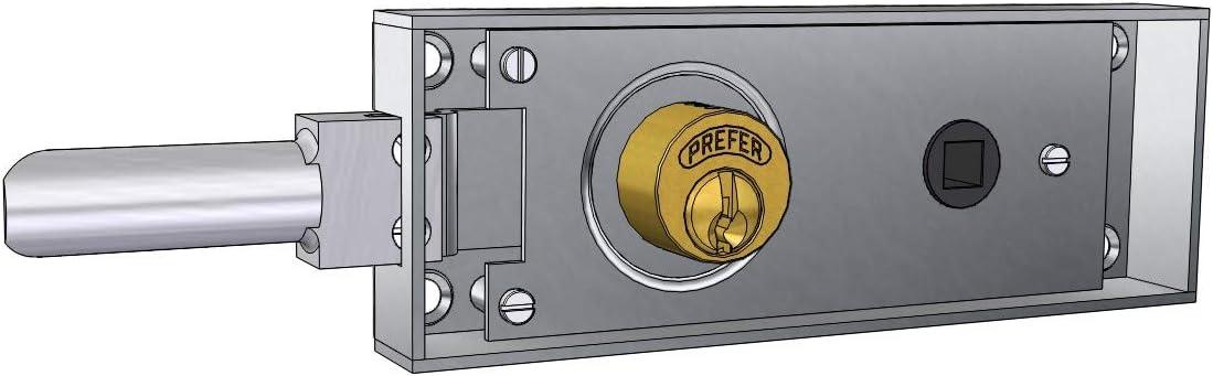 Cerradura para Puertas de tránsito/sótano de Hierro