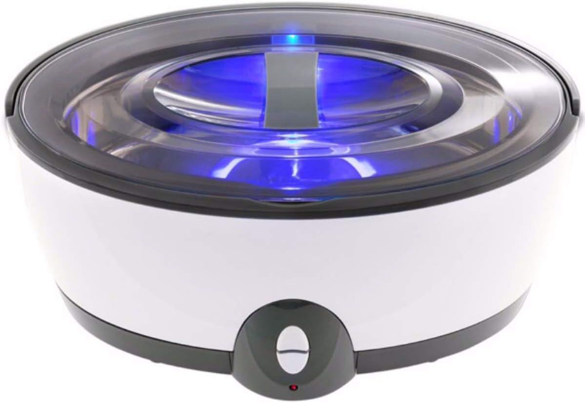 B2KEY® Máquina limpiadora ultrasónica dividida 450ml, esterilización logística, protección del medio ambiente, ordenada y saludable, grado alimenticio, gafas, joyas y otros productos