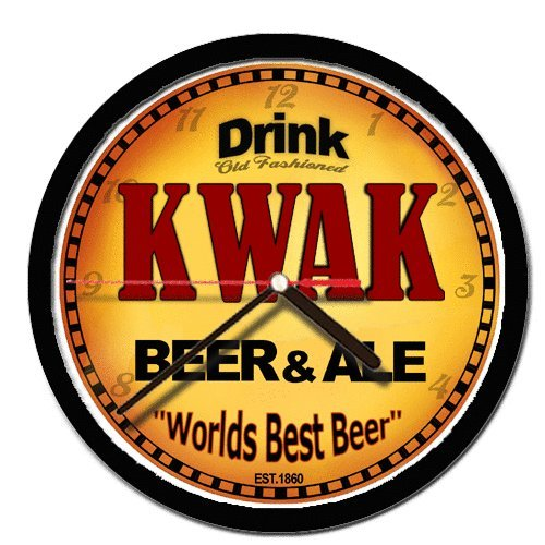 kwak-beer-and-ale-cerveza-wall-clock