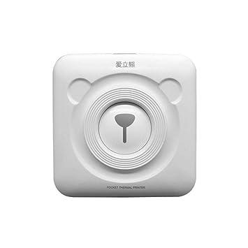 Impresora térmica portátil Bluetooth más pequeña Impresora de Mini ...