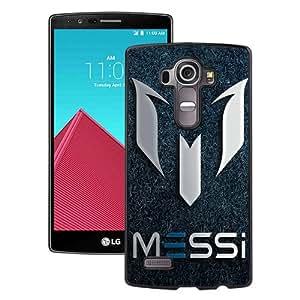 Hot Sale LG G4 Case ,Soccer Player Lionel Messi 63 Black LG G4 Cover Case Unique Popular Designed Phone Case