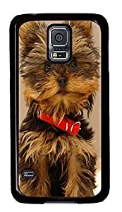 Samsung S5 best cases Yorkshire Terrier PC Black Custom Samsung Galaxy S5 Case Cover