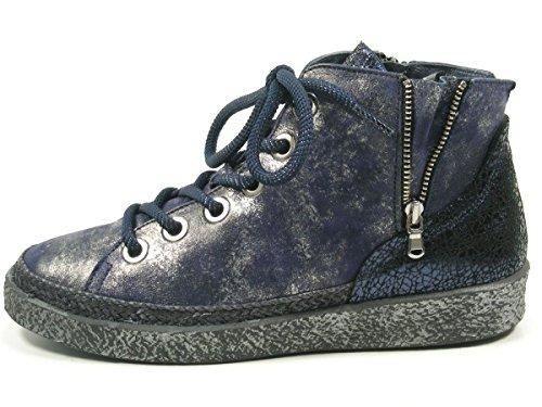 à lacets pour Blau Softwaves de 7 15 Chaussures femme 01 ville Yr80qY