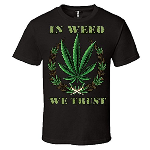 IN-WEED-WE-TRUST-Graphic-420-MARIJUANA-T-SHIRT