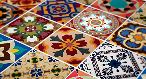 Tiles Stickers Decals Packs With 48 Tiles 5 9 X 5 9