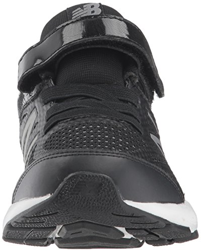 New Balance Boys' 519v1 Hook and Loop Running Shoe Black/White 2 M US Infant by New Balance (Image #4)