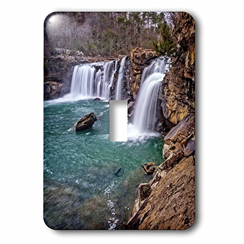 Boehm Graphics Photography - Little River Falls in Alabama - Light Switch Covers - single toggle switch (lsp_239843_1) (In Outlet Alabama)