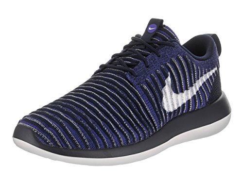 tumblr cheap price cheap shop offer NIKE Mens Roshe Two Flyknit Running Shoes College Navy / White-paramount Blue cheap price wholesale AcLL5kt