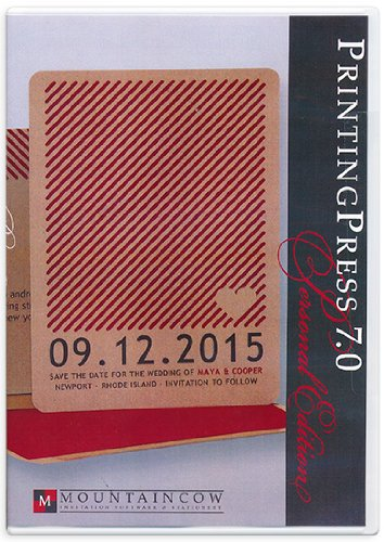 amazon com wedding invitation software printingpress 7 0 kitchen