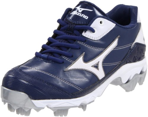 Mizuno Women's 9-Spike Finch 5-W, Royal/White, 5.5 M US