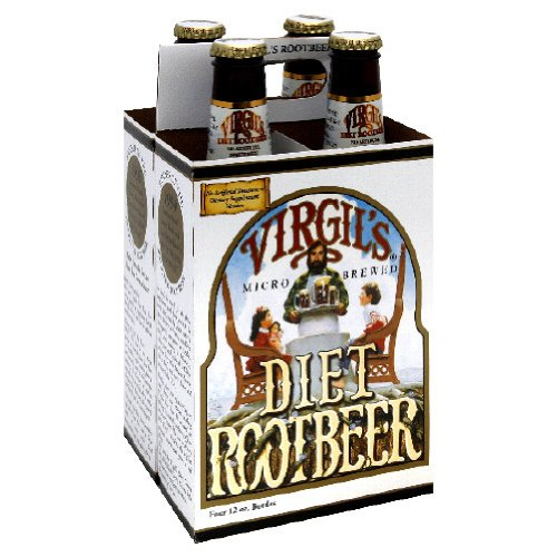 Virgils Diet Rootbeer, 12 Ounce - 24 per case.