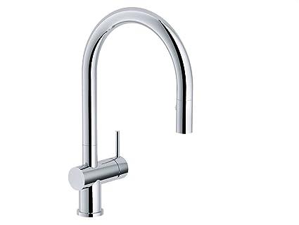 Franke Active Neo da rubinetto cromato da cucina con doccetta ...