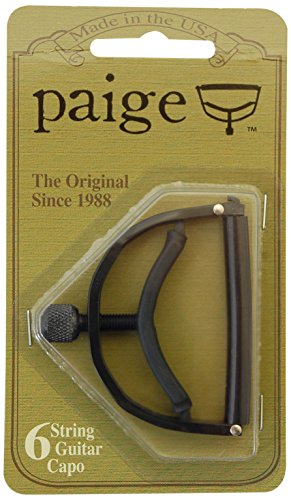Paige P6E 6-String Guitar Capo - Black