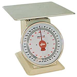 Update International (UP-11200) 200 Lb Analog Shipping and Receiving Scale