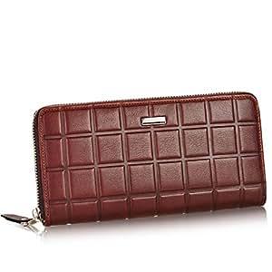 Cuero chocolate largo personalidad ambos hombres y mujeres ...