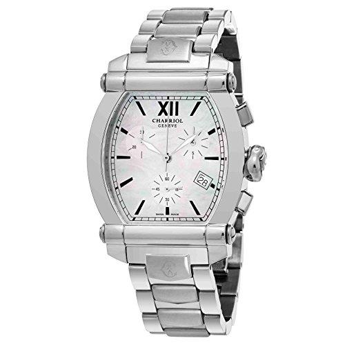 charriol-womens-columbus-swiss-quartz-stainless-steel-dress-watch-colorsilver-toned-model-060t100710