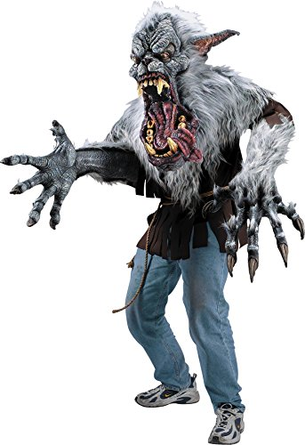 (Men's Creature Reacher Midnight Howl Outfit Scary Theme Halloween Costume,)