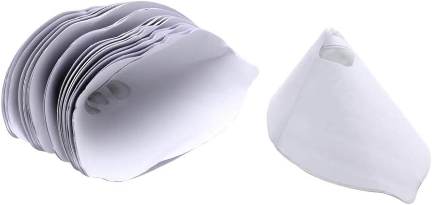 konische Papiergeflecht Filter Farbbeschichtung zum Reinigen der Tassen multi periwinkLuQ Farbbeschichtungsfilter 50 St/ück Trichter