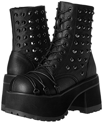 Demonia Black Demonia Women's Leather Leather Vegan Black Vegan Black Leather Vegan Demonia Demonia Women's Women's RawdxR