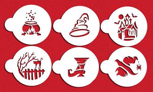 Large Halloween Cookie Stencil Set by Designer Stencils