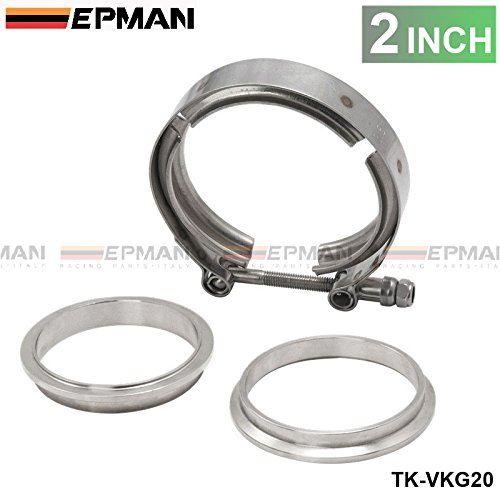 """Universal Upgraded 2.0"""" V-band clamp fit all style exhaust system TK-VKG20"""