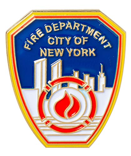 - Officially Licensed City of New York Fire Department FDNY Souvenir Lapel Pin