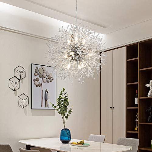 LightInTheBox Modern Electroplated Globe Chandeliers Firework Led Vintage Pendant Lights Living Room Dining Room G9 Christmas Decoration Chrome
