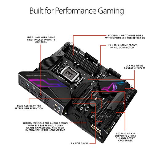 ASUS Motherboards ROG Maximus XI Hero (Renewed)