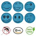 Mosquito Repellent Patch 60 Count Keeps Insects and Bugs Far Away, Simply Apply to Skin and Clothes , Adult, Kid and Pet-Friendly , Convenient For Travel, Outdoor Concerts and Camping