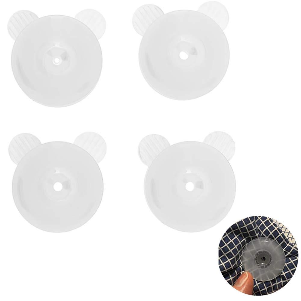 4pcs / Set Couette Couette Clips Grippers lit Couette Porte-Donuts Gardez Consolateur en Place sans Le Tissu Nuire Romote