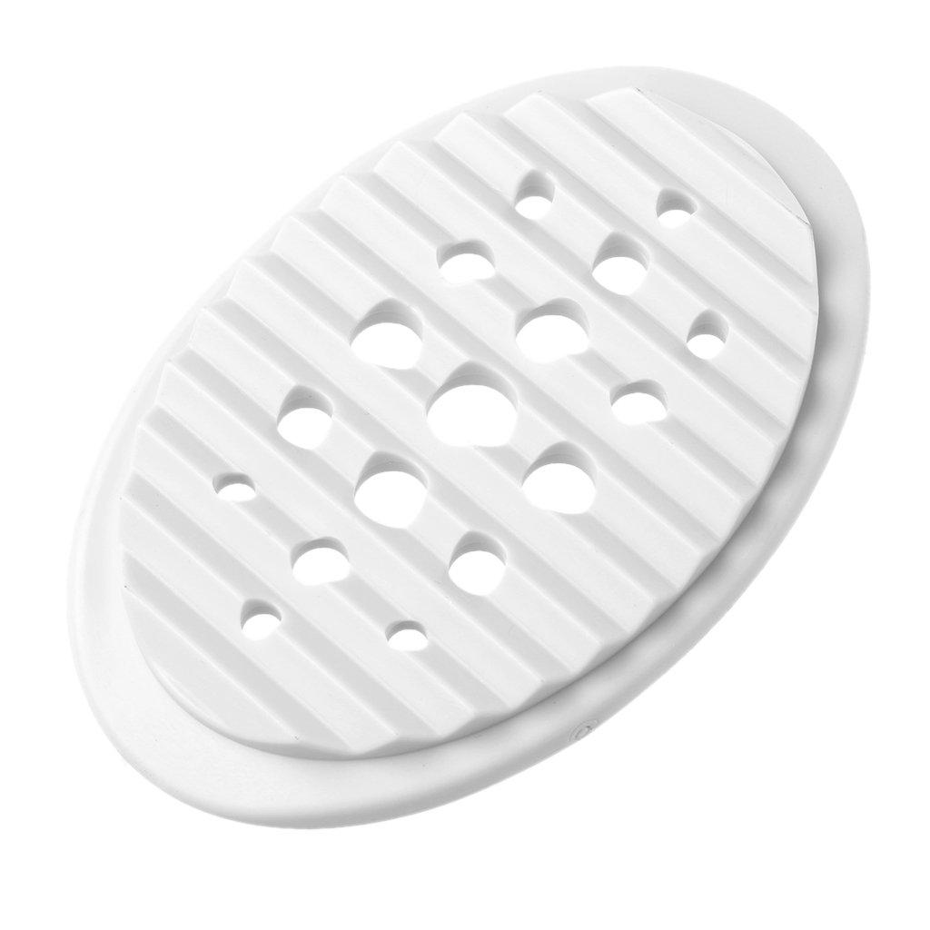 Lunji porta sapone silicone antiscivolo–per sapone, spugna, Rose, 11.5x8x2cm