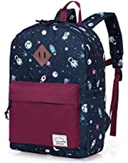 Backpack for Boys,Vaschy Preschool Toddler Backpack Little Kids Backpacks for Nursery School Children Girls with Chest Strap in Cute Astronaut.