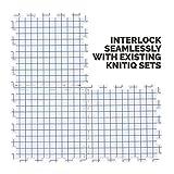 KnitIQ Blocking Mats for Knitting - Extra Thick