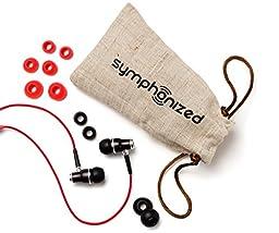 Symphonized NRG Wood Headphones, Red