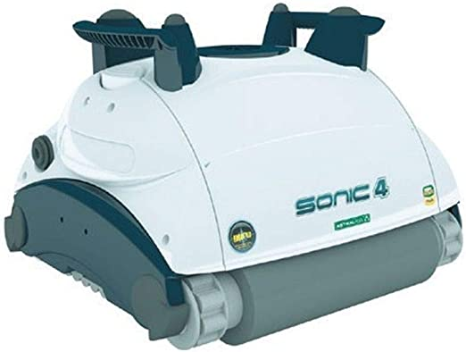 AquaForte Sonic 4 Robot aspiradora Piscina y limpiador de piscina ...