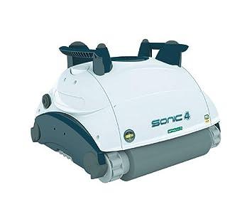 AquaForte Sonic 4 Robot aspiradora Piscina y limpiador de piscina pool Robot aspirador: Amazon.es: Jardín