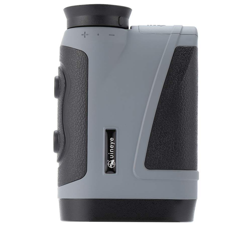 Uineye Golf Rangefinder - Range : 5-1950 Yards, 0.33 Yard Accuracy, Laser Rangefinder with Height, Angle, Horizontal Distance Measurement Perfect for Hunting, Golf, Engineering Survey (Grey) by Uineye (Image #5)