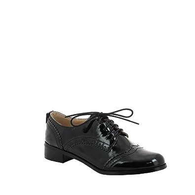 Chaussures Ideal Shoes noires femme rEXU0Hj3