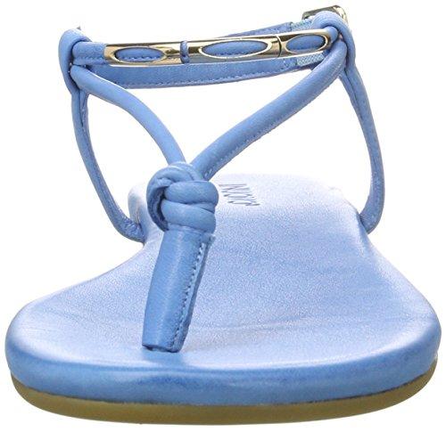 Inuovo 7164, Chanclas para Mujer Pantalon De Mezclilla (Jeans)