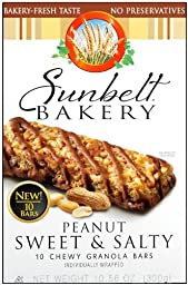Sunbelt Bakery® Sweet & Salty Peanut Granola Bars 10 Ct [3 Pack]