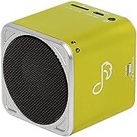 Pet Acoustics Pet Tunes Bluetooth Speaker Preloaded with Calming Feline Music, Green