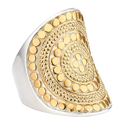 anna-beck-gold-plated-beaded-saddle-ring-size-80