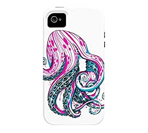 Curls iPhone 4/4s White Tough Phone Case - Design By Humans